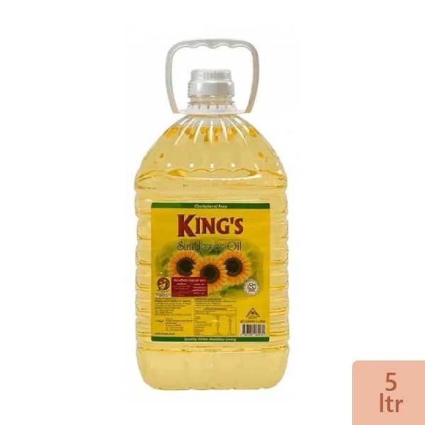 Kings Sunflower Oil-5 ltr - বাজার নাও